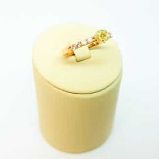 Кольцо с якутским бриллиантом
