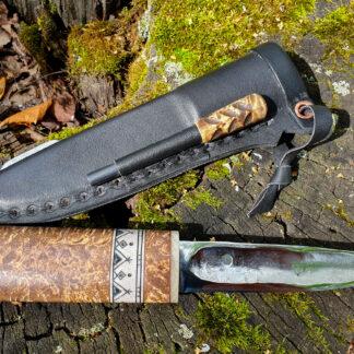 Якутский нож с огнивой