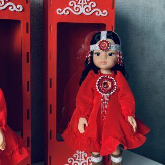 Уникальная кукла в национальном наряде для детей от 3х лет.