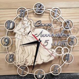 Семейные часы на годовщину