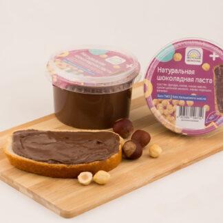 Натуральная шоколадная паста с лесным орехом