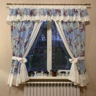 Комплект штор для кухни Элегия