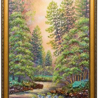 Картина из натуральных камней. 25000 руб