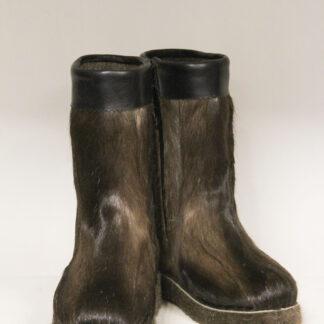 Ботинки мужские оленьи на молнии