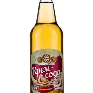 Безалкогольный газированный напиток «Крем-сода». 12 бутылок