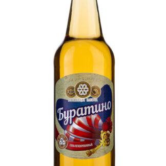Безалкогольный газированный напиток «Буратино». 12 бутылок