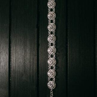 Браслет серебряный. 4175 руб