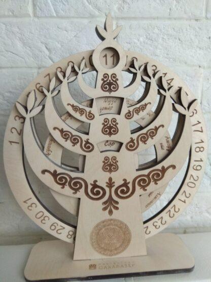 Вечный календарь «Аал Луук Мас». 1300 руб